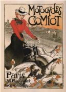 Vintage French advertisement - motocycles comiot Paris
